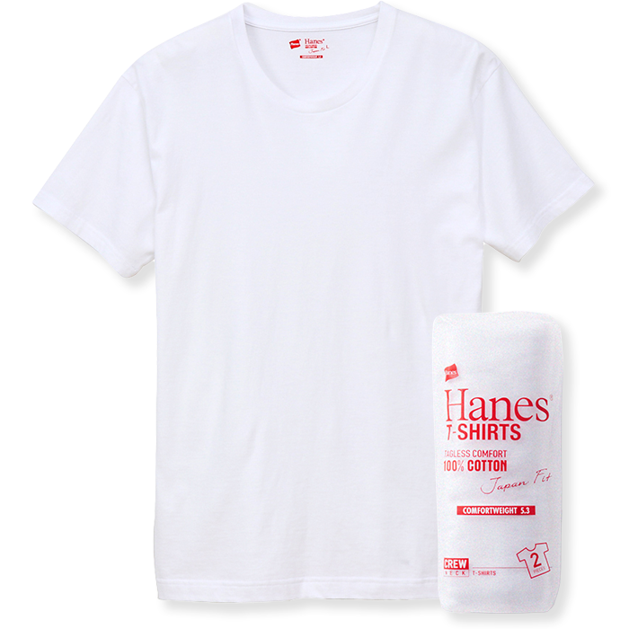 Hanes T-SHIRTS Japan Fit