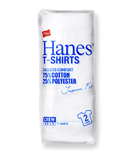 Hanes T-SHIRTS Japan Fit BLUE PACK