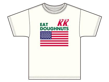 Hanes×Krispy Kreme Doughnut 限定Tシャツを発売!