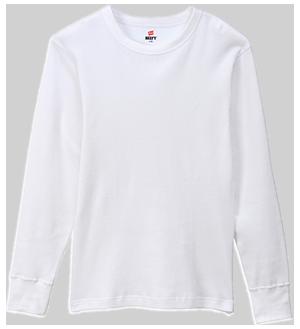 BEEFY-T<sup>®</sup> サーマルロングスリーブ Tシャツ